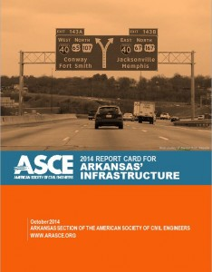 AR Infrastructure Report Card from the American Society of Civil Engineers