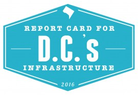 The 2016 DC Infrastructure Report Card was recently released. See how DC ranks.
