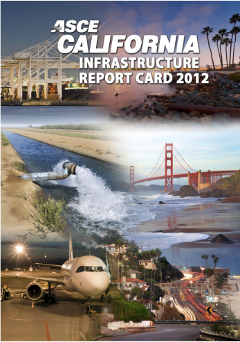 California infrastructure report card by ASCE
