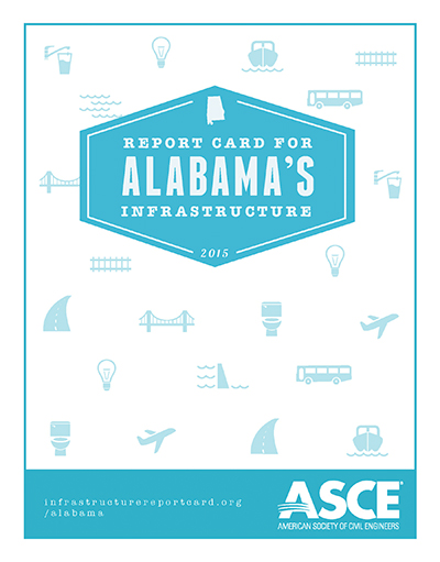 Report card for Alabama's infrastructure