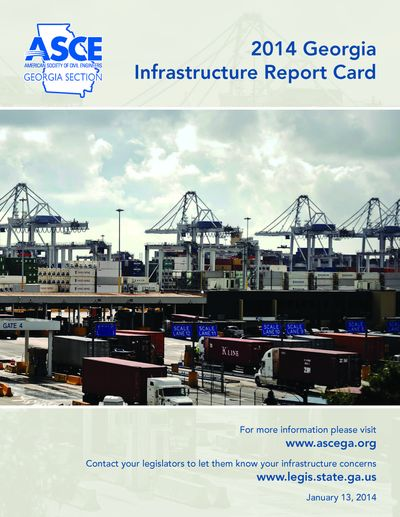 2014 georgia infrastructure report card