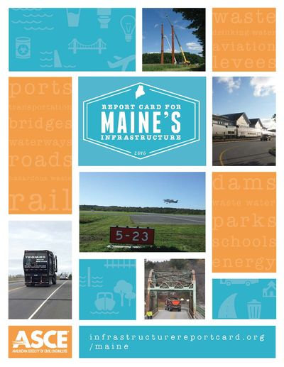 report card for maine's infrastructure