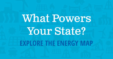 What powers your state? explore the energy map