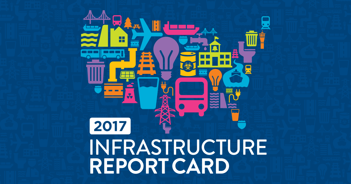 Infrastructure Engineering Florida : Asce s infrastructure report card gpa d