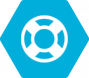 blue support icon