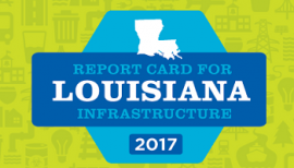 Louisiana report card for infrastructure